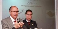 André acompanha anúncio de Alckmin em Campinas sobre integração entre o Sistema Cantareira e a Bacia do Rio Paraíba do Sul