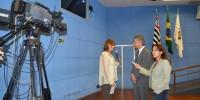 André é entrevistado na TV Câmara sobre seu papel estratégico na elaboração do Plano Municipal de Ciência e Tecnologia