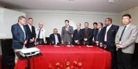 André recebe delegação de acadêmicos chineses em visita a Ciatec